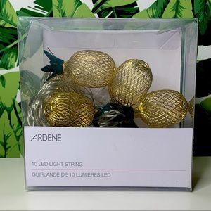 ❣️2 for 25❣️ Pineapple LED light string